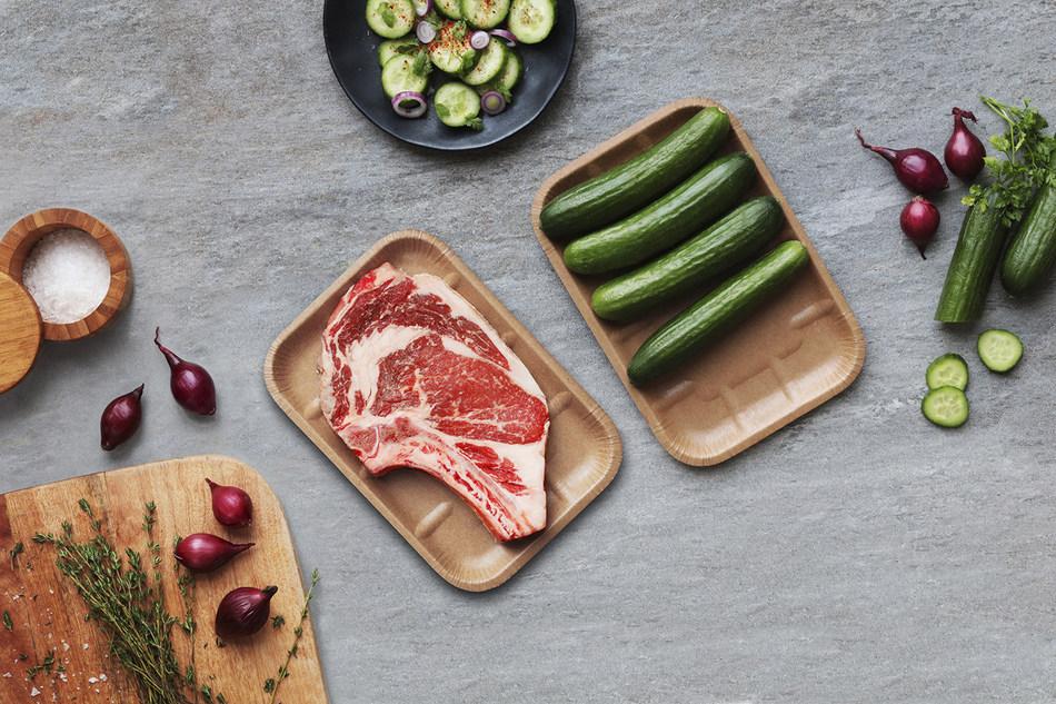 Cascades lance une barquette alimentaire en carton thermoformé 100 % recyclé et recyclable