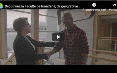 Nouvelles formations en foresterie à l'Université Laval