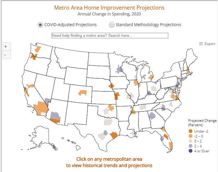 Pandemic Expected to Shrink 2020 Remodeling Spending