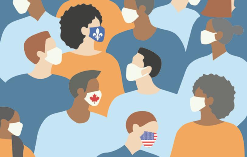 L'effet COVID-19 sur les relations entre le Canada, le Québec et les USA, Mai 2020