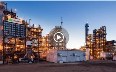 L'usine Enerkem de production de biocarburants va de l'avant