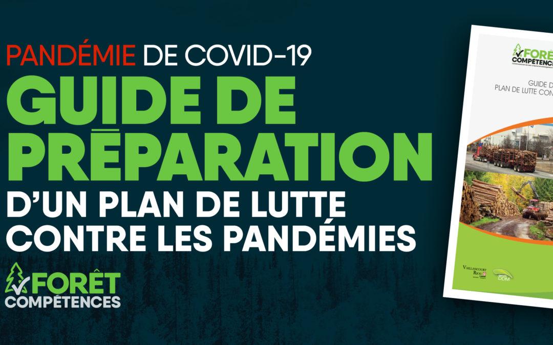 Guide de préparation d'un plan de lutte contre les pandémies