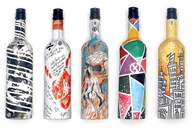 Une bouteille de vin en papier débarque sur le marché européen