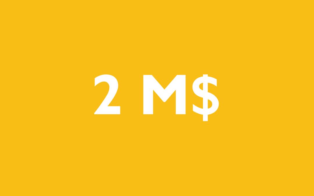 Investissement de 2 M$ chez Kruger Biomatériaux