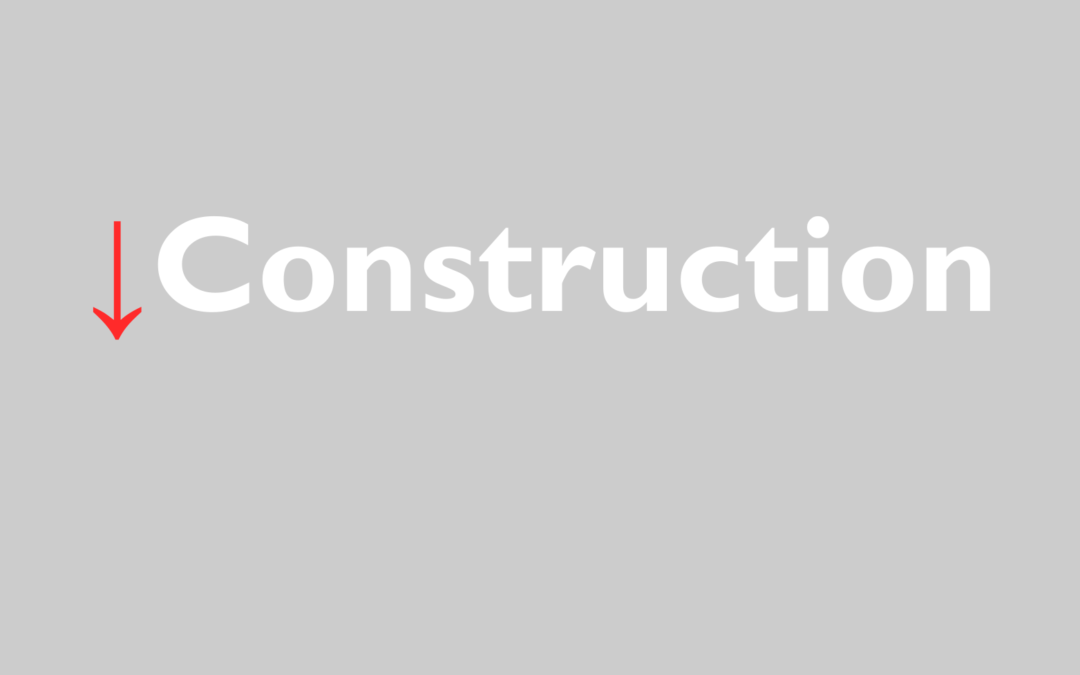 Construction Starts to Decline in 2020