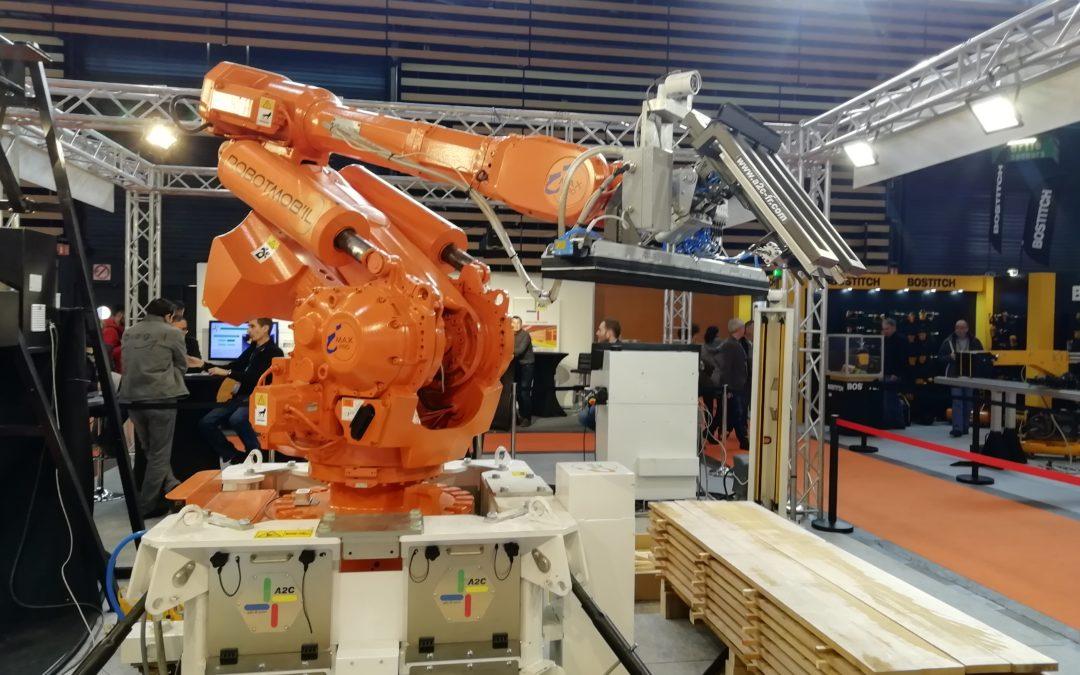 Robotri : trier automatiquement le bois à la sortie du séchoir
