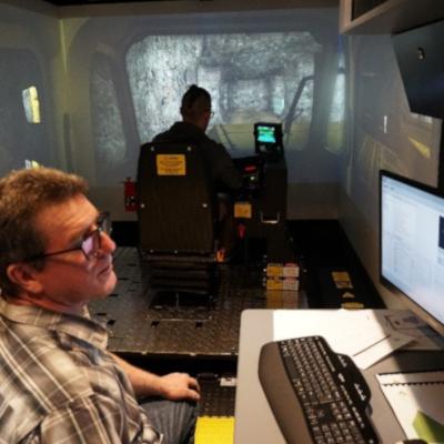 Bilan de l'utilisation du simulateur d'engins forestiers