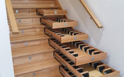 Both Staircase & Wine Cellar